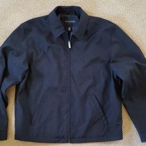 Mens Black Structure Jacket
